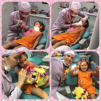 Primeira vez ao dentista