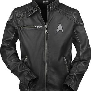 Star Trek Starship real leather jacket