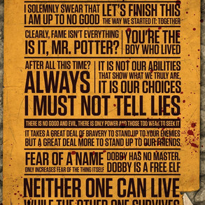 Poster: Harry Potter Quotes