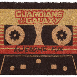 Awesome Mix Vol.2 Guardians of the GalaxyDoor Mat