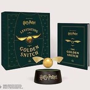 Harry Potter Levitating Golden Snitch