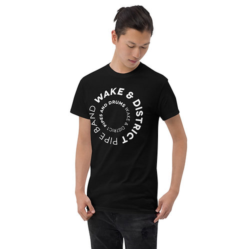 Unisex Heavyweight Wake and District Circle T-Shirt