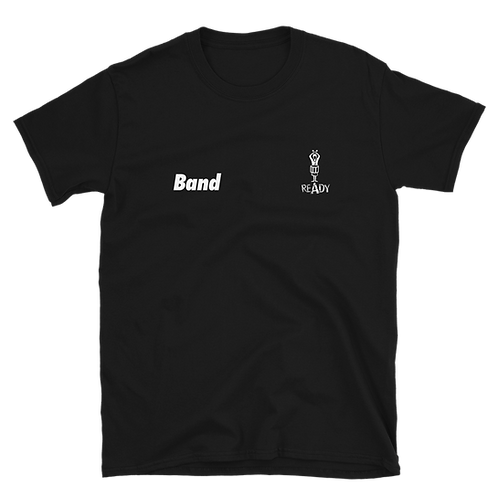 #BandReady Tenor Shirt (black)