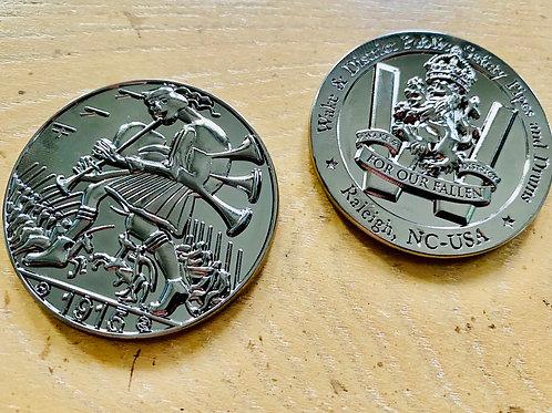 Death as a Scottish Piper Coin