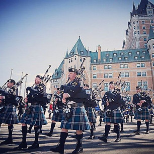 We will be on parade Saturday in _quebec