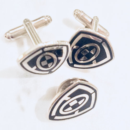 Cuff-Links and Tie Pin Combo