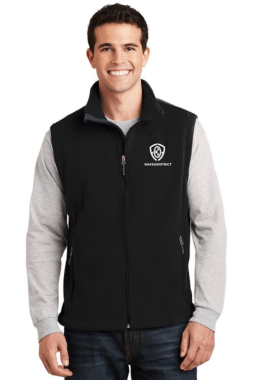 Men's Embroidered Fleece Vest