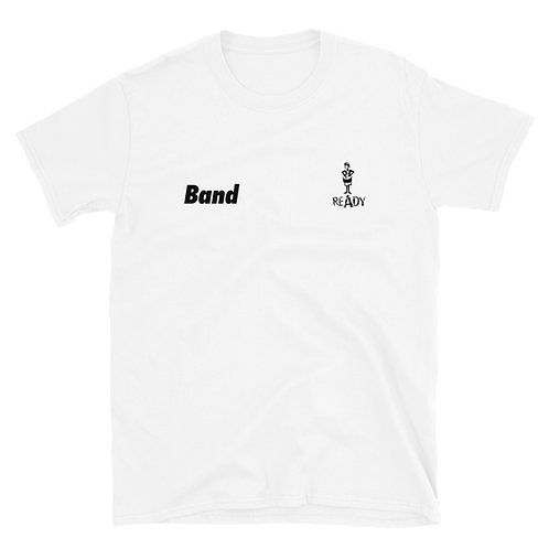 #BandReady Snare Shirt (white)