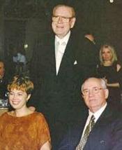 Lonnie Rex with Mikhail Gorbachev