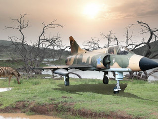 Bermuda triangle meets Tunguska in a South African game reserve!