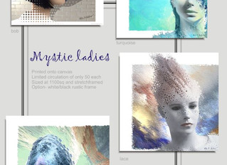 Mystical ladies of the MBW Art mansion...