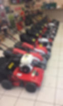 A range of our Cobra Lawnmowers