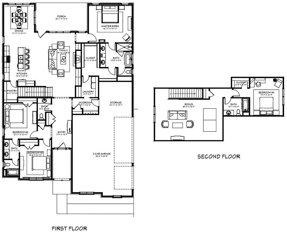 Samuel Floor Plans