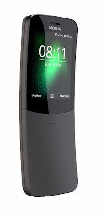 Nokia 8110 TA-059 1 Dual SIM Black 4GB 512MB RAM 4G LTE