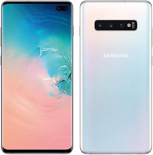 Samsung Galaxy S10 Plus Dual Sim - 128GB, 8GB RAM, 4G LTE, Prism Black, UAE Vers