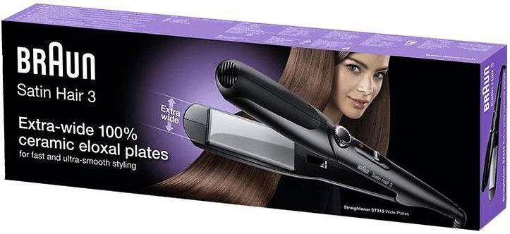 Braun Satin Hair 3 ST310 Hair Straightener With Wide Plates