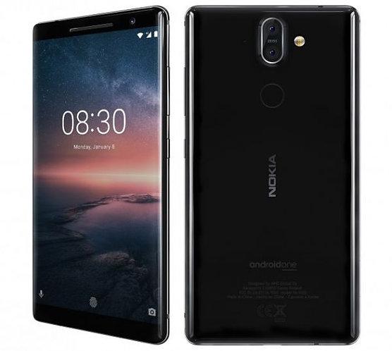 Nokia 8.1 Smartphone LTE, Iron Steel