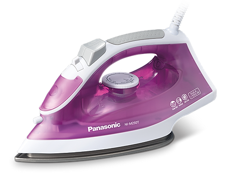 Panasonic NI-M250T - Titanium Coated Sole Plate Steam Iron - 1550W