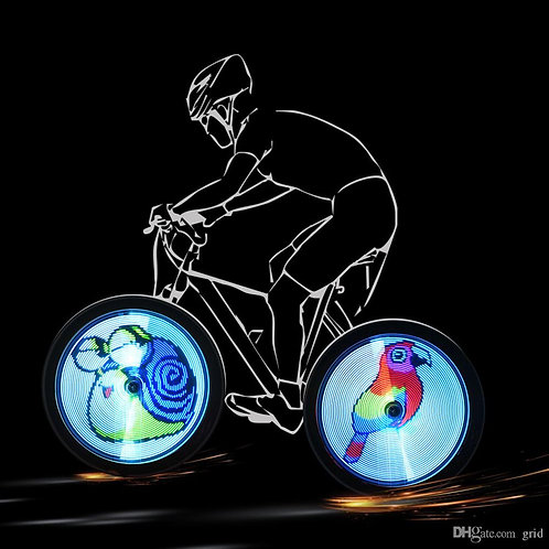 Bicycle Wheels Hologram