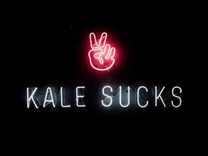 Kale doesn't really suck - but job descriptions do