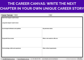 Write the next chapter in your own unique career story