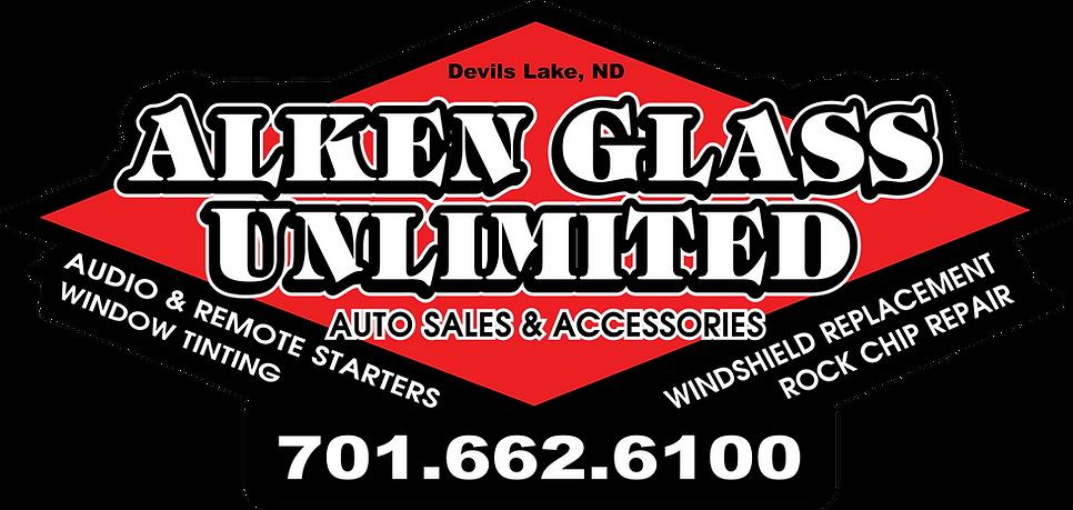 Alken Glass Unlimited LLC. Logo