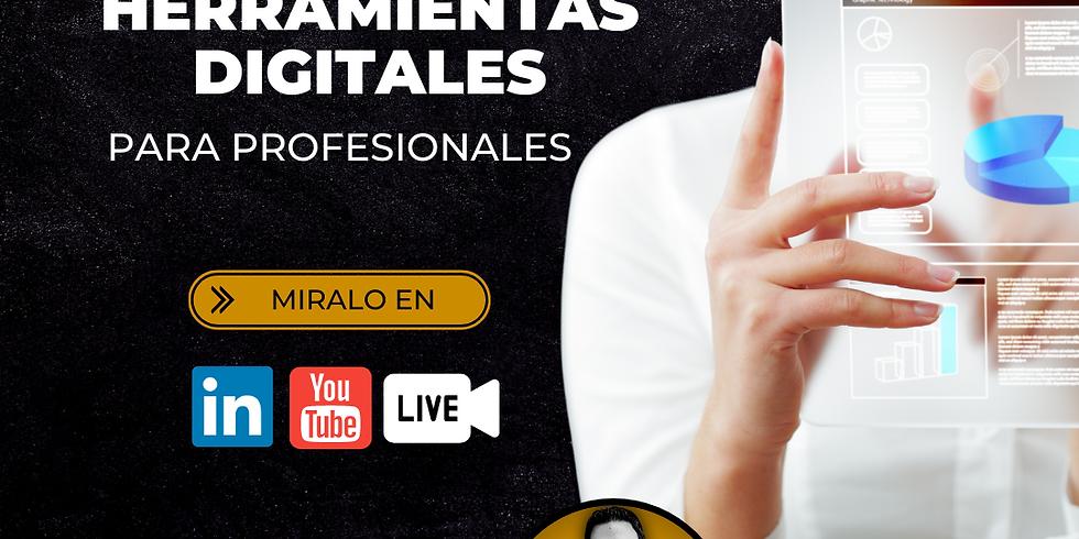 Webinar Herramientas digitales para Profesionales