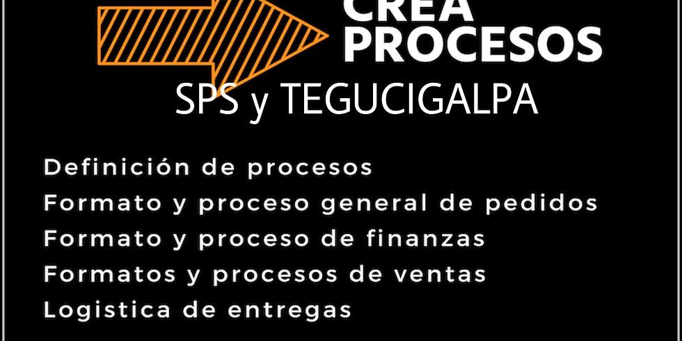 Curso creación de Procesos para emprendimientos SPS