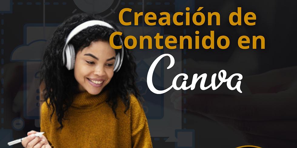 Creación de contenido con CANVA