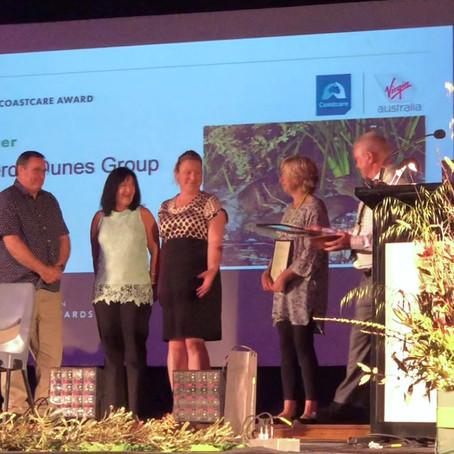 Taperoo Dunes ... Winners of the 2019 Virgin Coastcare Award!