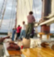 Taking Down the Sail