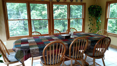 Dining area at Blue Mountain