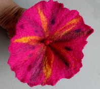 A Felted  Flower