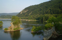 Potomac River at Harpers Ferry