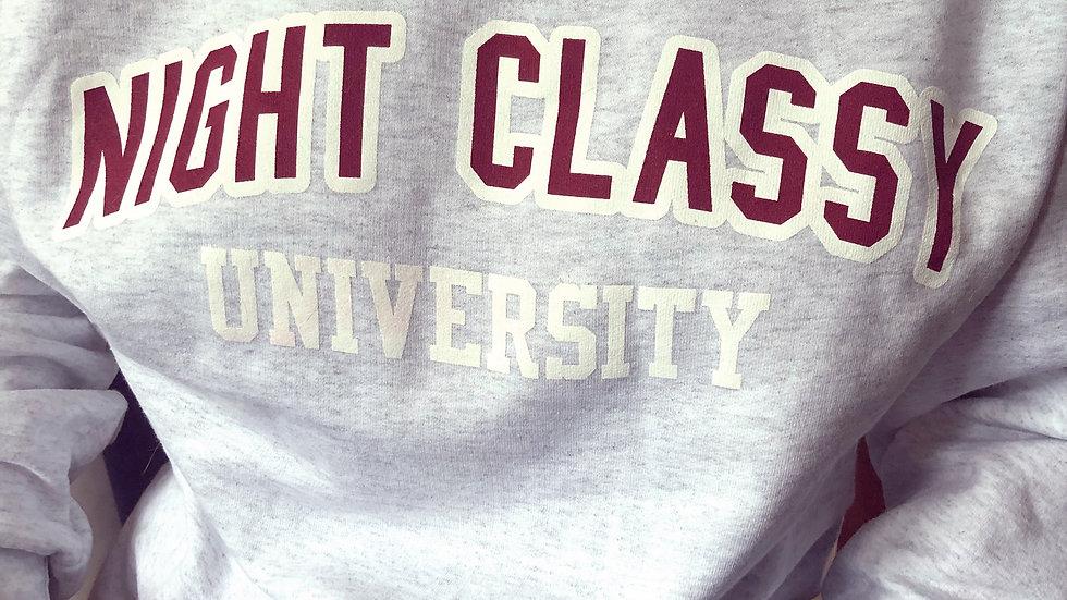 Night Classy University Sweater