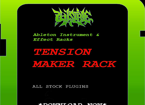 PLAUSIBLE TENSION MAKER RACK