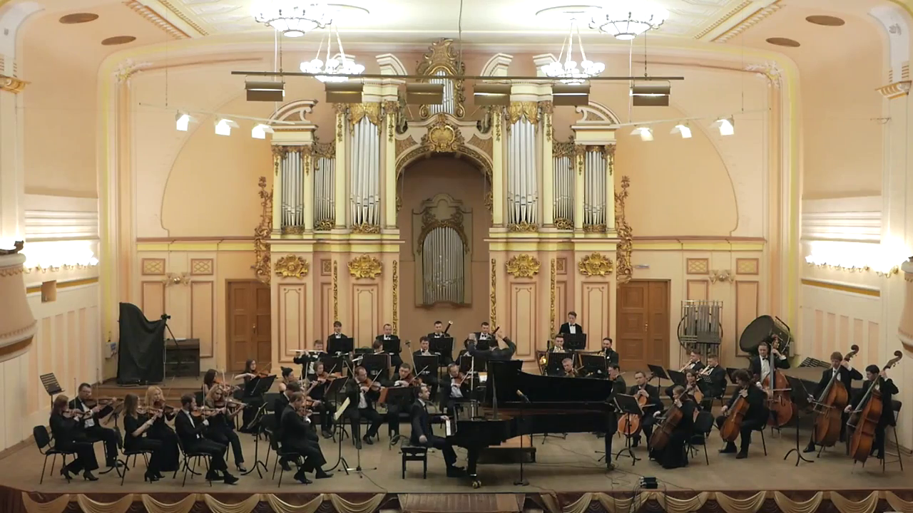 Performing Beethoven Concerto No. 5 in Ukraine