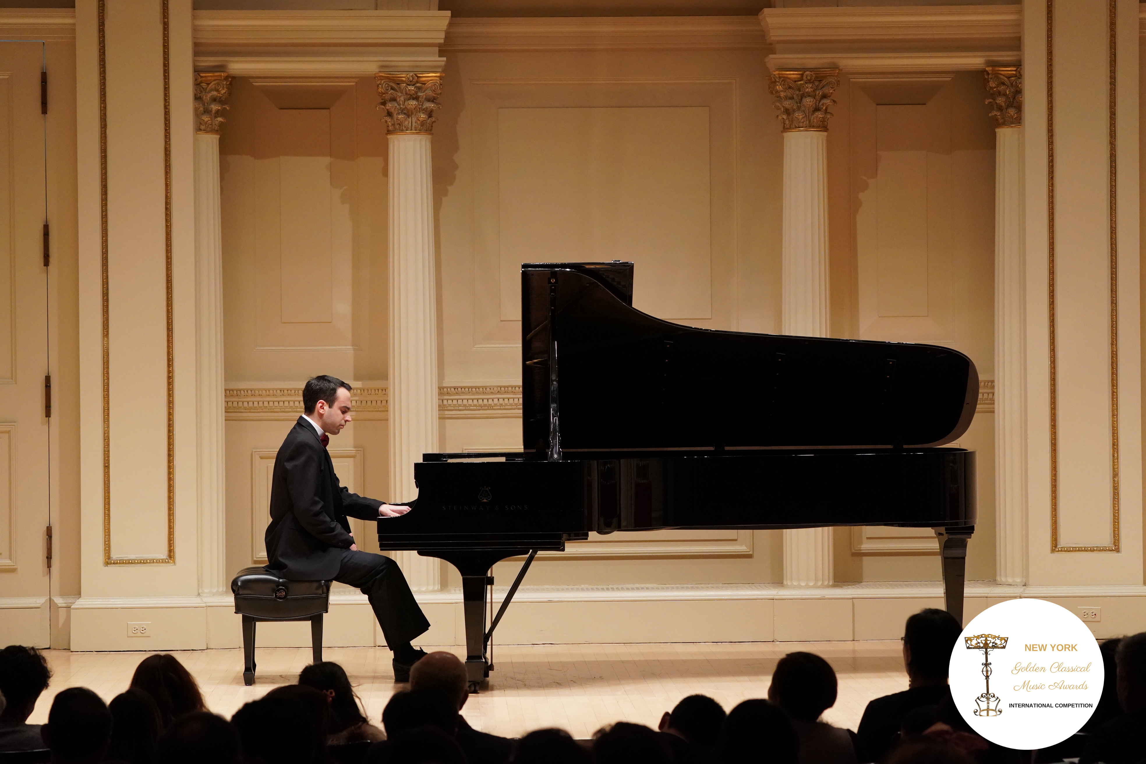 Performing at Carnegie Hall in New York