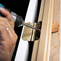 Replace or fix doors, hardware, or windows