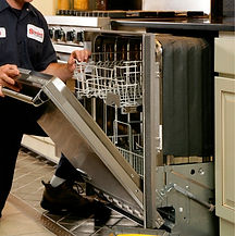 Get help repairing or replacing your dishwasher, microwave, washer and dryer, or stove