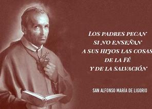 Santo del Día: San Alfonso María de Ligorio                               Obispo y doctor