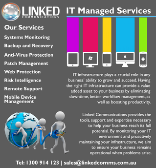 Linked Communications launches IT Managed Services