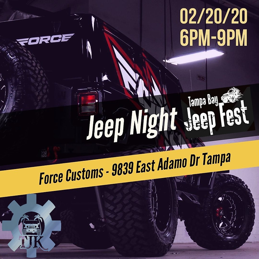 Jeep Night At Force Customs