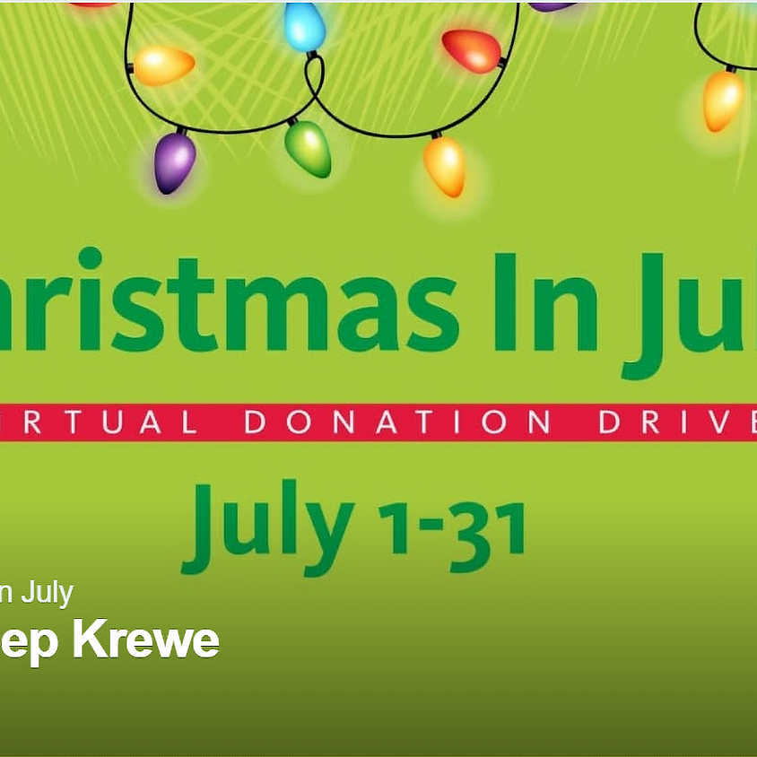 Christmas In July Fundraiser