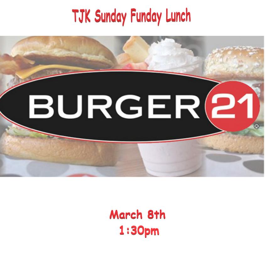 TJK Sunday Funday Lunch Meetup
