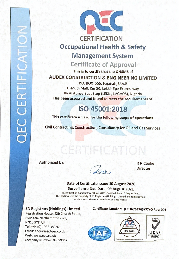 ISO 45001:2