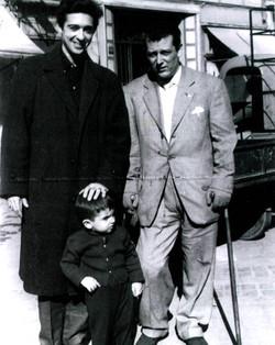 With Antonio Marin