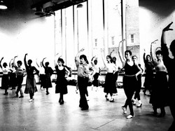 Victorio Teaching at Alvin Ailey