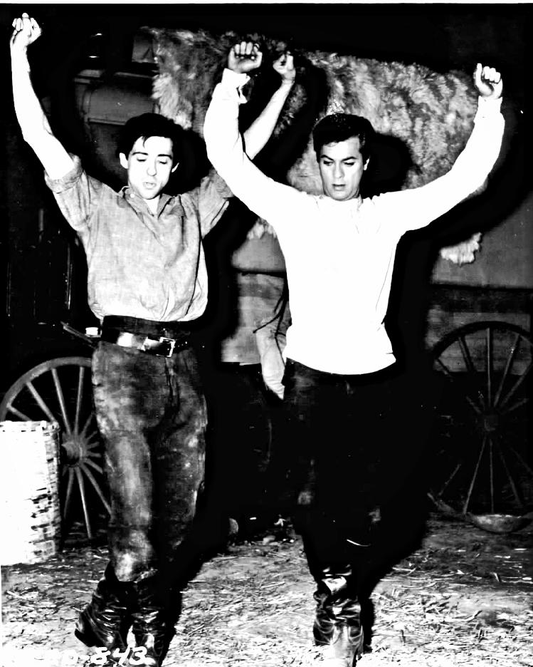 Victorio & Tony Curtis