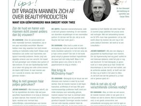 Dit vragen mannen zich af over beautyproducten